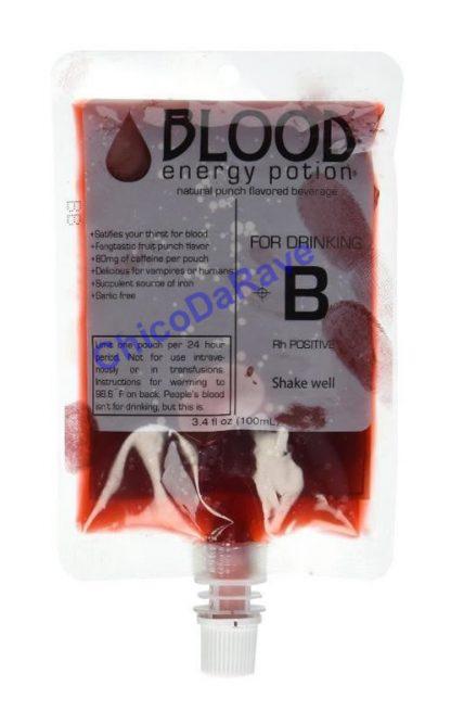 Cantil bolsa de sangue