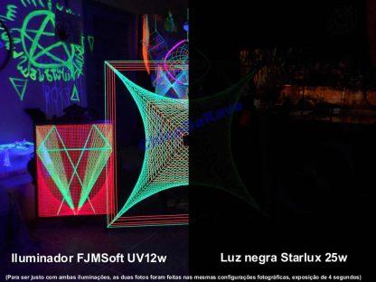 Iluminador UV 12w