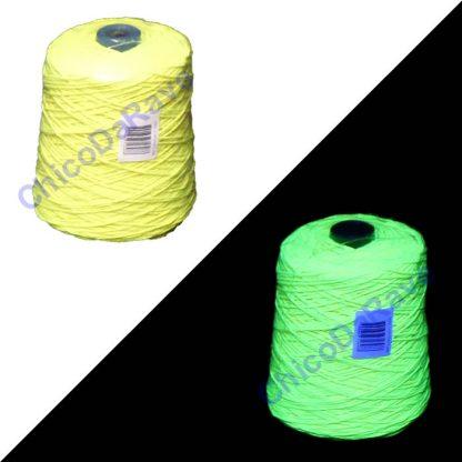 Barbante amarelo limão fluorescente - 154