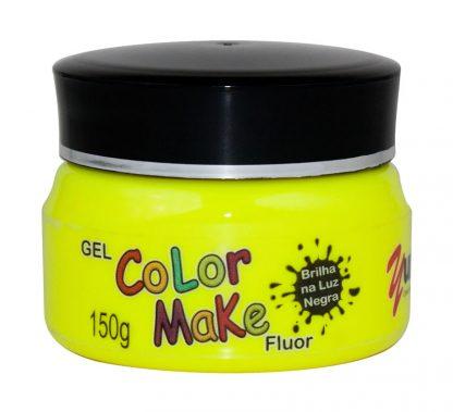 Gel amarelo fluorescente