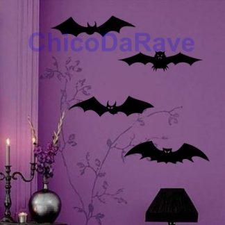 Kit adesivos de morcego
