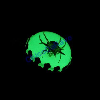 Anel aranha espinhosa fosforescente