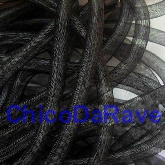 Crinolina tubular 16mm preto