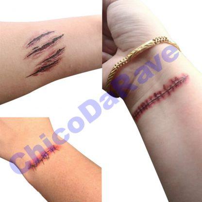 Tatuagem de cicatriz
