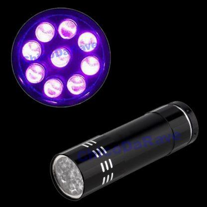 Lanterna de luz negra 9 LEDs
