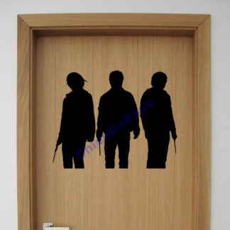 Adesivo Harry Potter + Hermione +Rony - 30x24cm
