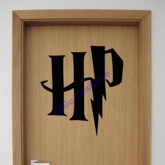 Adesivo iniciais Harry Potter - 30x27cm